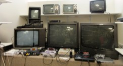 You need all these CRTs to power these classic consoles!
