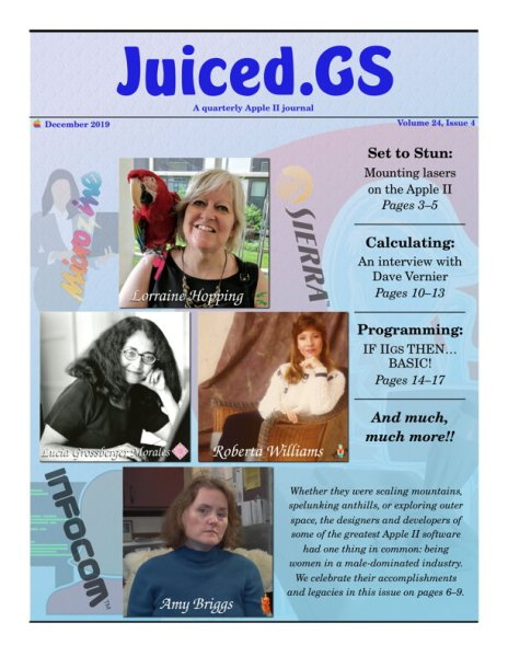 Juiced.GS Volume 24, Issue 4 (December 2019)
