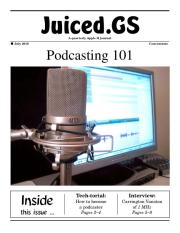 Juiced.GS Concentrate: Podcasting 101