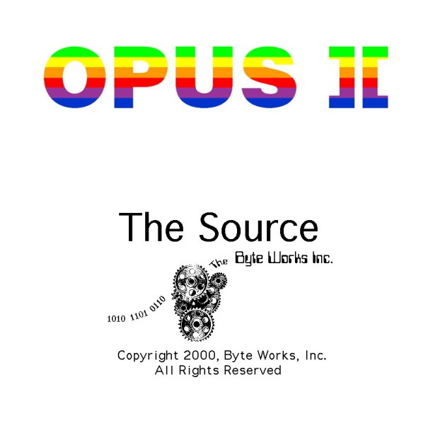 Opus ][: The Source