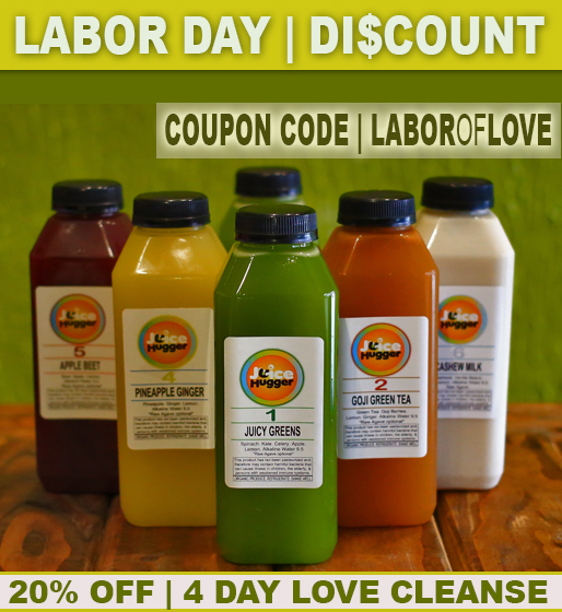 DETOX DISCOUNT SPECIAL | A GREAT TIME TO TRY A JUICE CLEANSE!