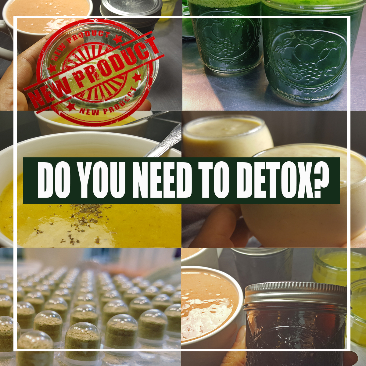 WOULD YOU LIKE TO DETOX WITH US?