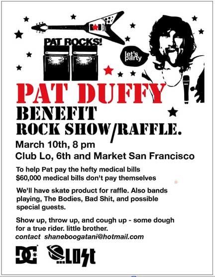 Pat Duffy Benefit Rock Show