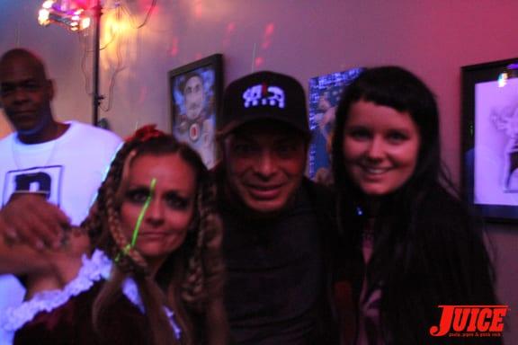 Chloe Trujillo, Robert Trujillo and Cat Peterson