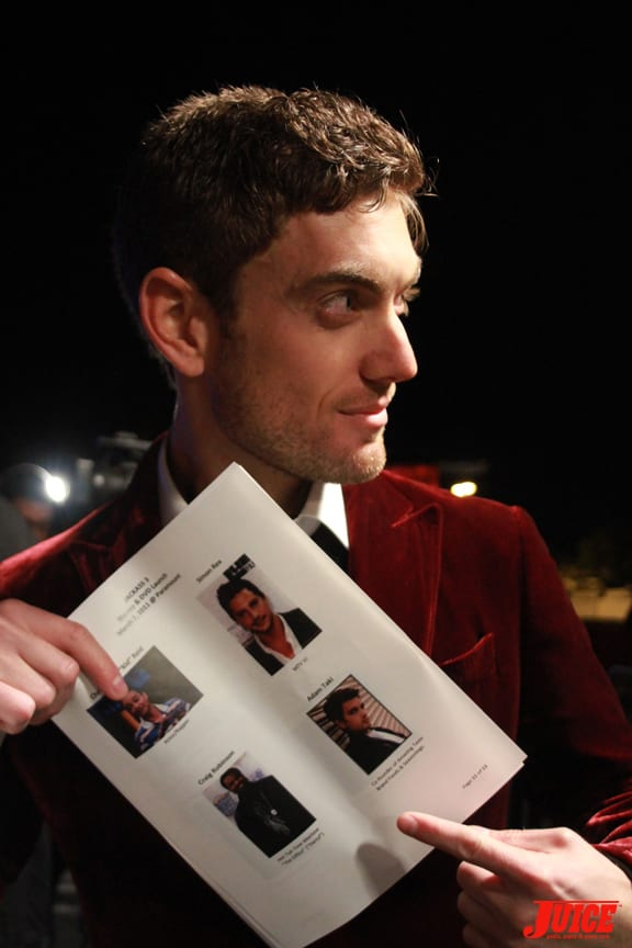 Thank god for press sheets. Photo: Dan Levy
