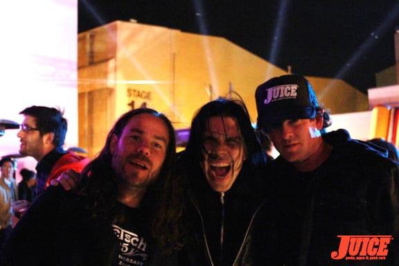 Pontious, Sam and Scott. Photo: Dan Levy