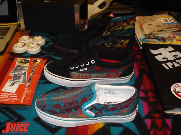 Vans for Wounded Knee