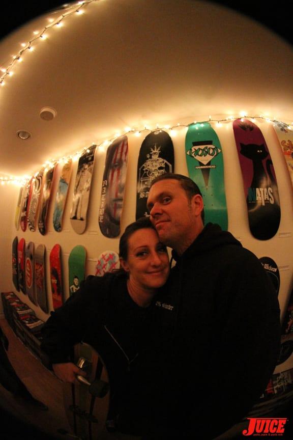 Lauren and WIley