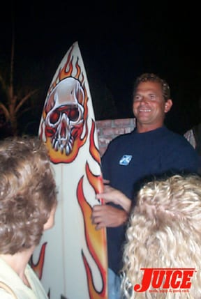 Baja surfboard winner. Photo: Dan Levy