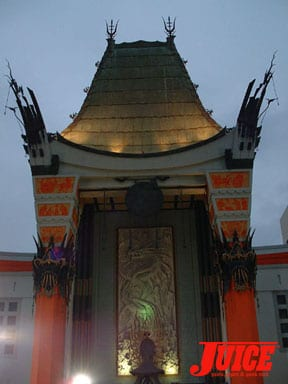 Grauman's Chinese Theater with real red carpets... Photo: Dan Levy