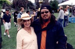 "Kathy ""Gidget"" Kolner, Jeff Ho Photo: Marvin"