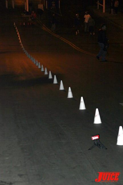 Race course. Photo: Dan Levy