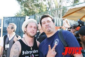 Joey Tershay and Block. Photo: Dan Levy