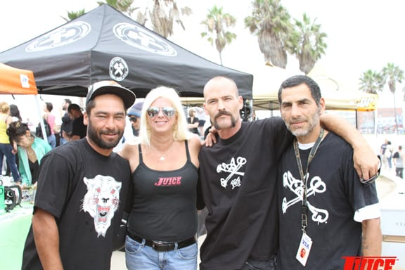 Jereme Schadler, Terri Craft, Tim Jackson, Jesse Martinez. PHOTO: DAN LEVY