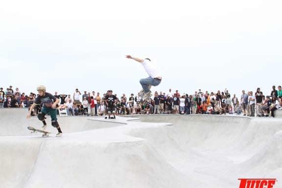 Snake run mini bowl contest. PHOTO: DAN LEVY