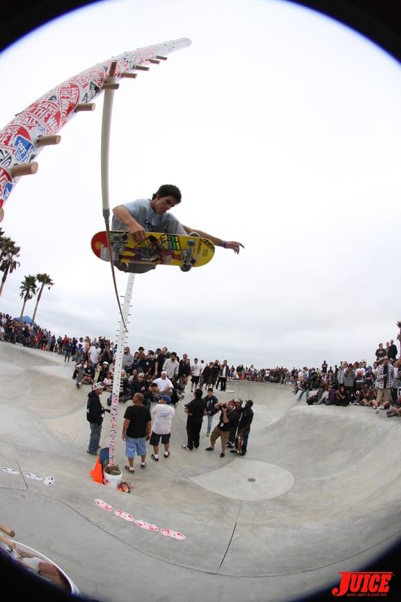 Lance Carrera-Newton was killing it.. PHOTO: DAN LEVY