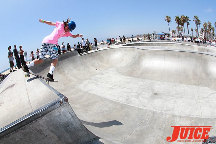 ALL GIRL SKATE JAM VENICE 2014. PHOTO BY DAN LEVY