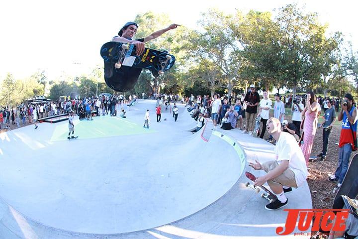 David Loy. Diamond Skatepark Opening Day 2014. Photo by Dan Levy.