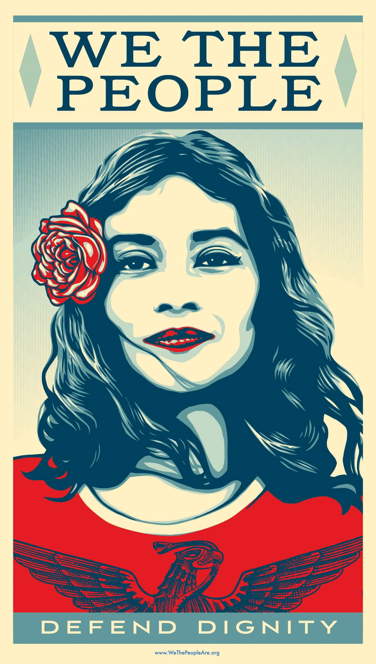American Civics We The People Campaign By Shepard Fairey