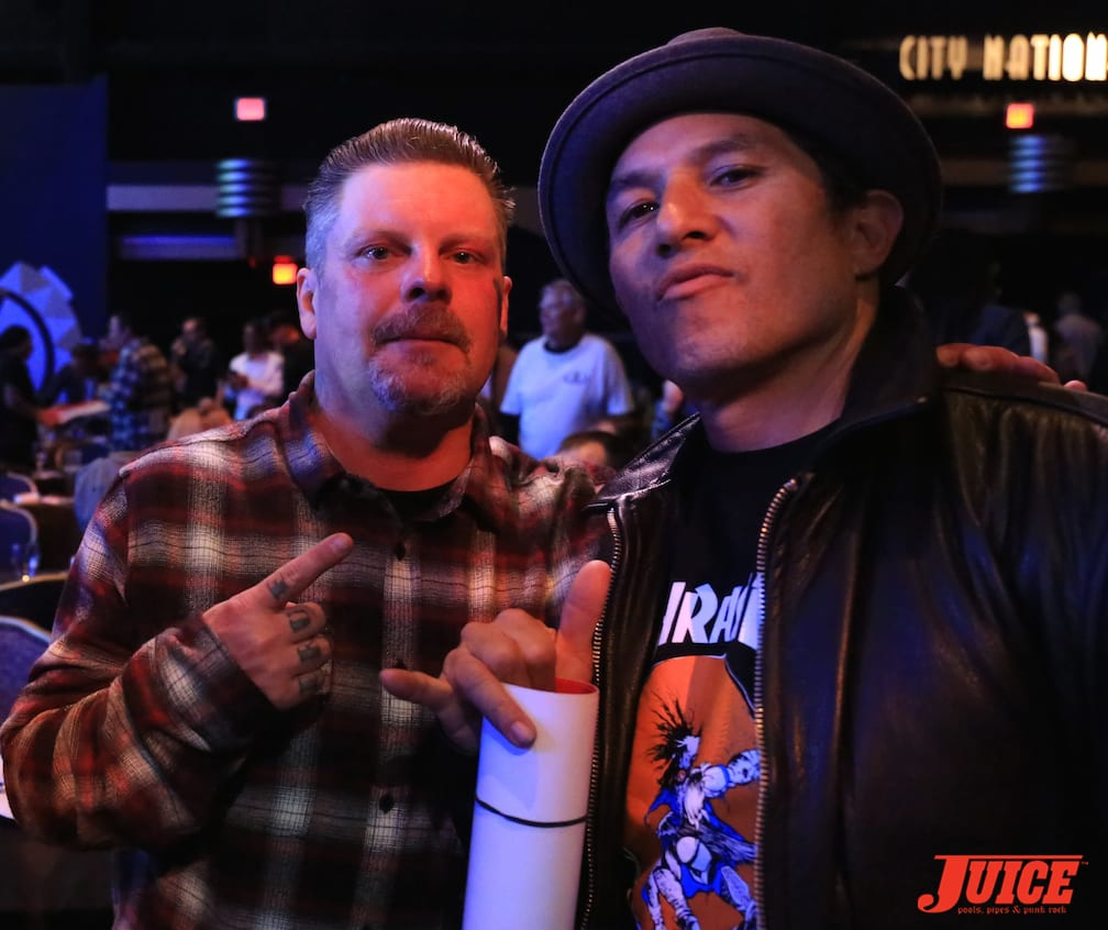 Eric Dressen and Christian Hosoi. Photo by Dan Levy © Juice Magazine