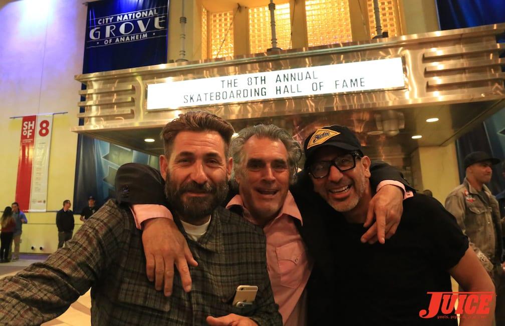 Eddie Reategui, Steve Olson, Eddie Elguera. Photo by Dan Levy © Juice Magazine