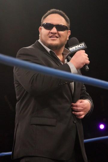 Samoa Joe Cuts a Promo for the Main Event Mafia