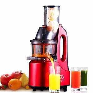 SKG New Generation Wide Chute Anti-Oxidation Slow Masticating Juicer Vertical Masticating Cold Press Juicer Review