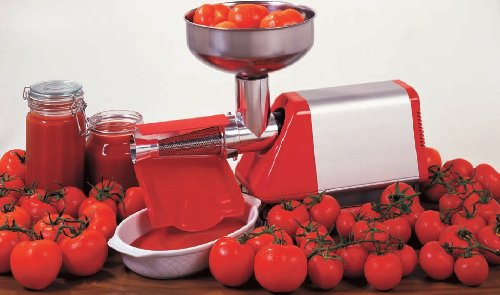 A Tomato Strainer Is A Great Tool To Use For Making Fresh Sauce and Juice