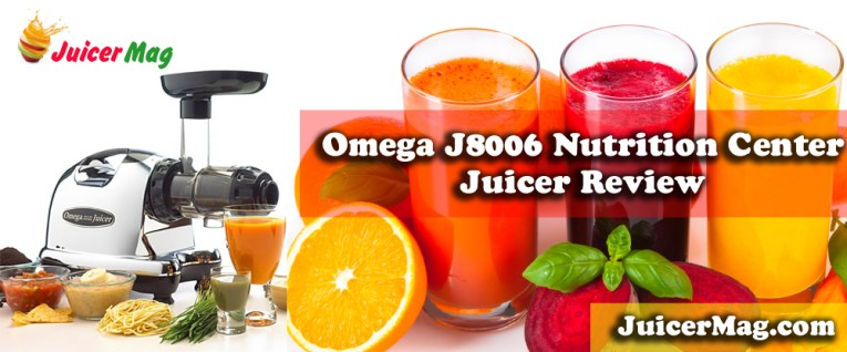Omega J8006 nutrition center juicer review
