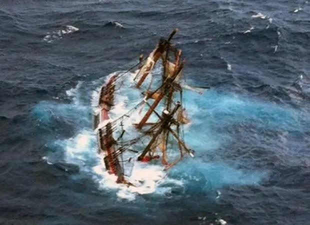 Sinking hormonal sailboat