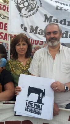 Vilma Ripoll y Alejandro Bodart (MST)