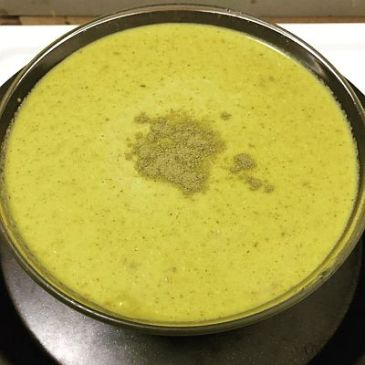 Green Garden Goddess Soup