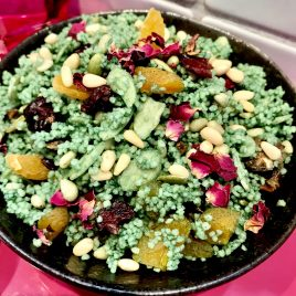 Juicy's Emerald Jewelled Cous Cous