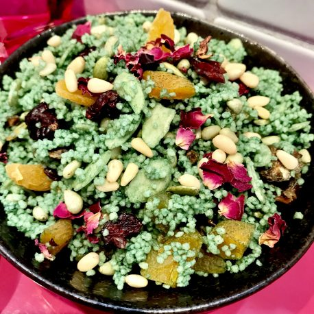 Juicy Lucy's Emerald Jewelled Cous Cous V