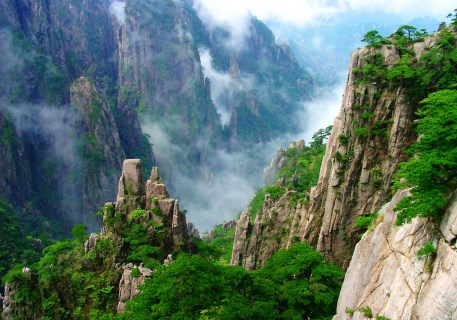 huangshan-overview