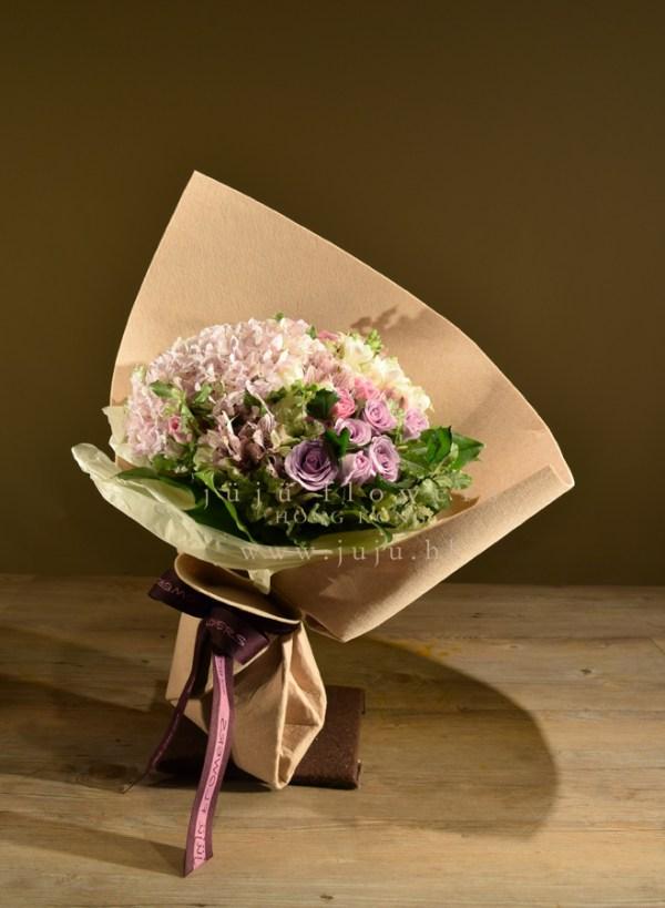 01060-Light Pink bouquet