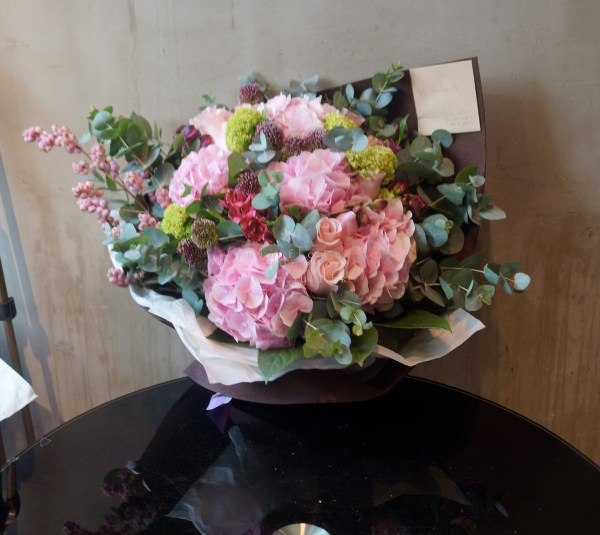 01098-Pink Hydrangea