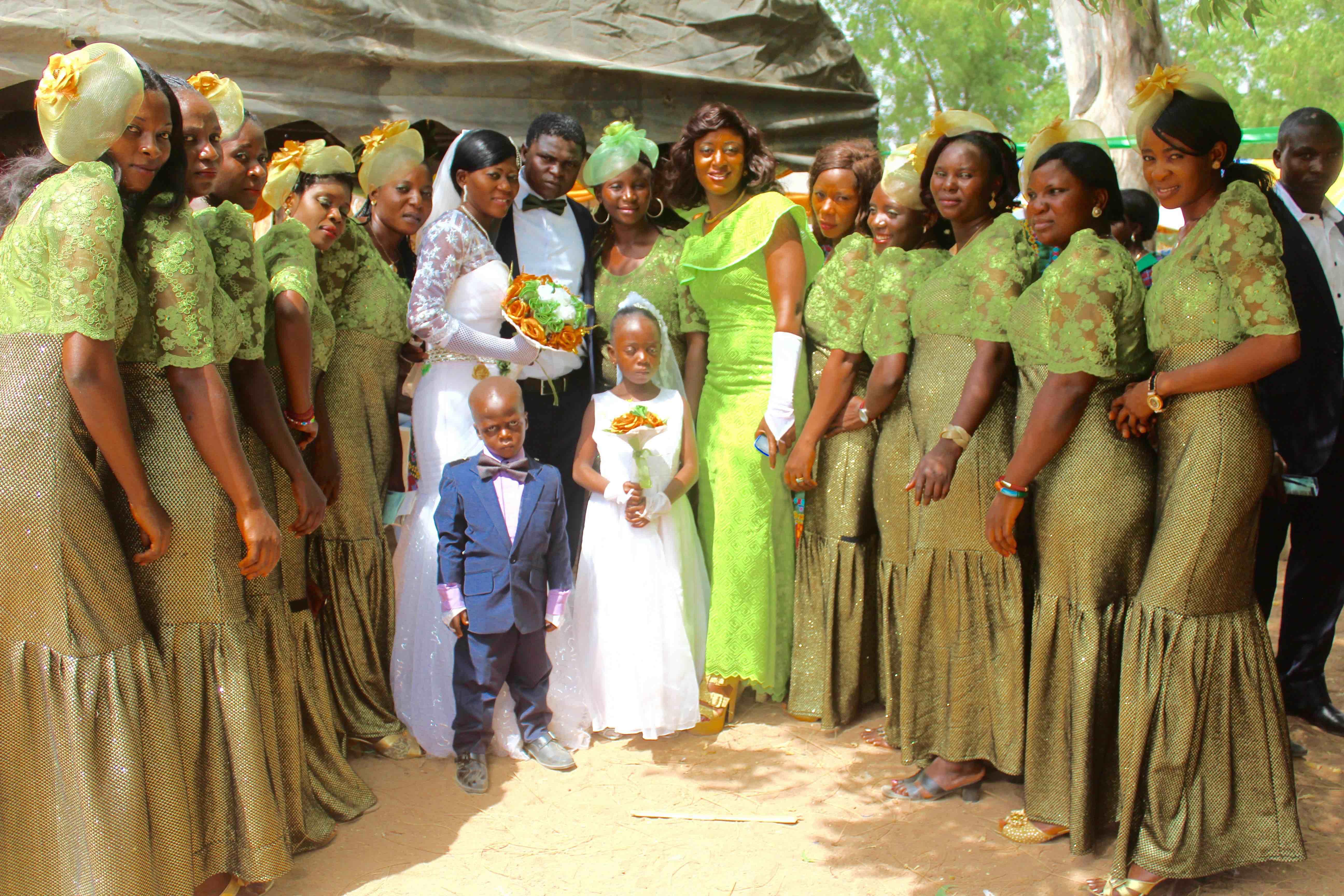 Nigerian Wedding (Bridesmaids)