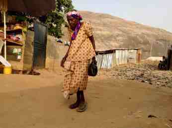 Gbagyi Woman in Ushafa Village, Abuja, Nigeria #JujuFilms