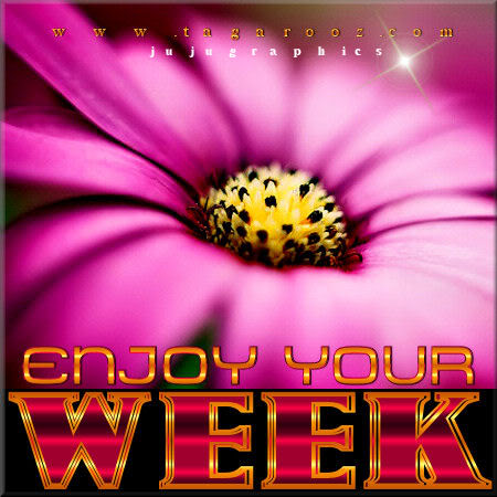 Enjoy Your Week 44 JuJuGraphics