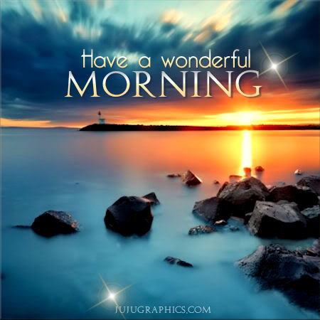 Have A Wonderful Morning 8 Graphics Quotes Comments Images Amp Greetings For Myspace