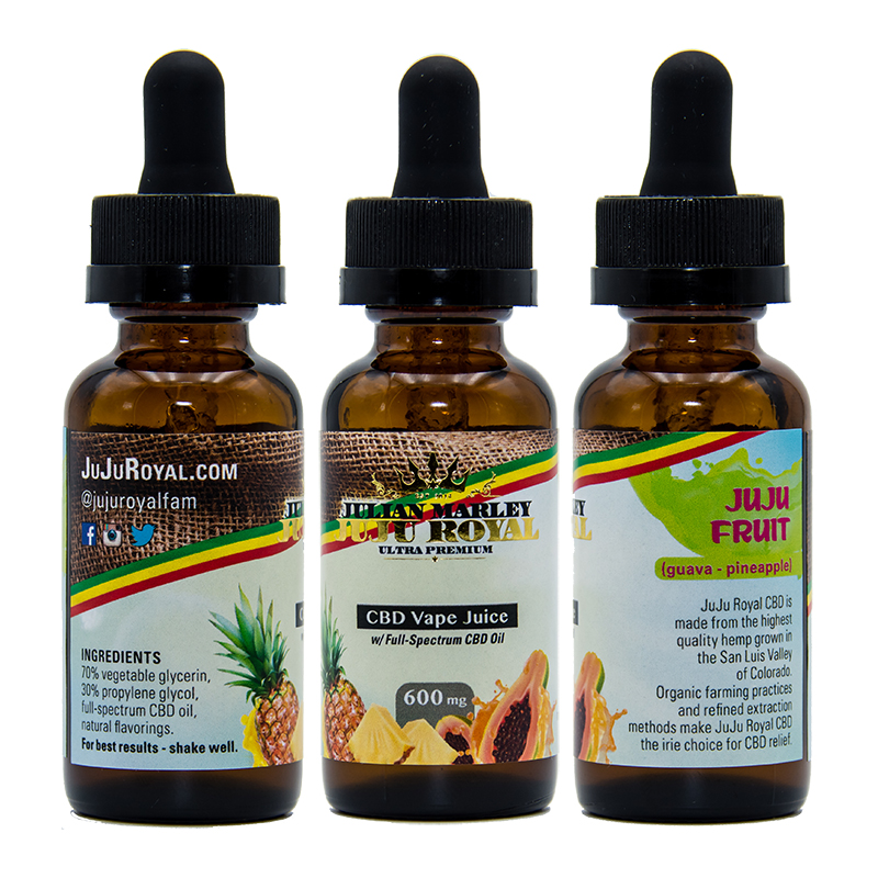 JuJu Royal CBD Vape Juice