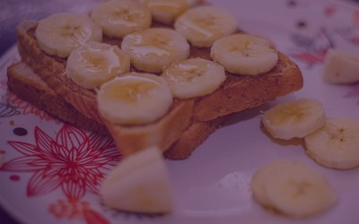 Ginger Honey Banana Toast
