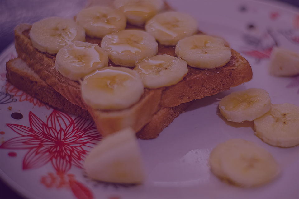 Ginger Honey Banana Toast - Julian Marley JuJu Royal