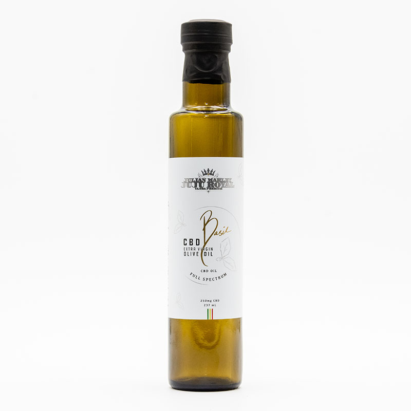 JuJu Royal Basil CBD Olive Oil