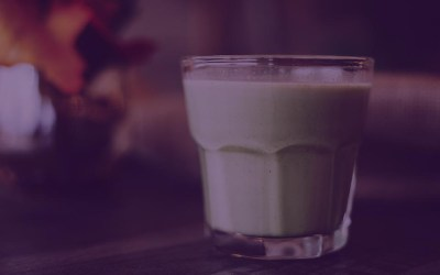 Green Ginger and Mango Smoothie