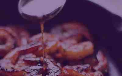 Honey Garlic Ginger Shrimp