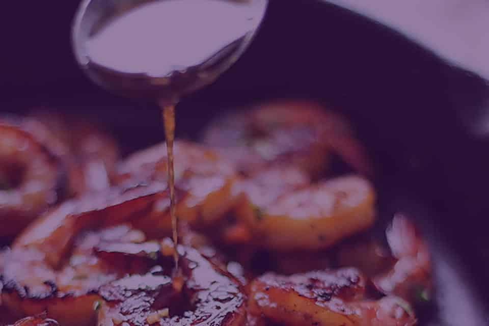 JuJu Royal - Honey Garlic Ginger Shrimp