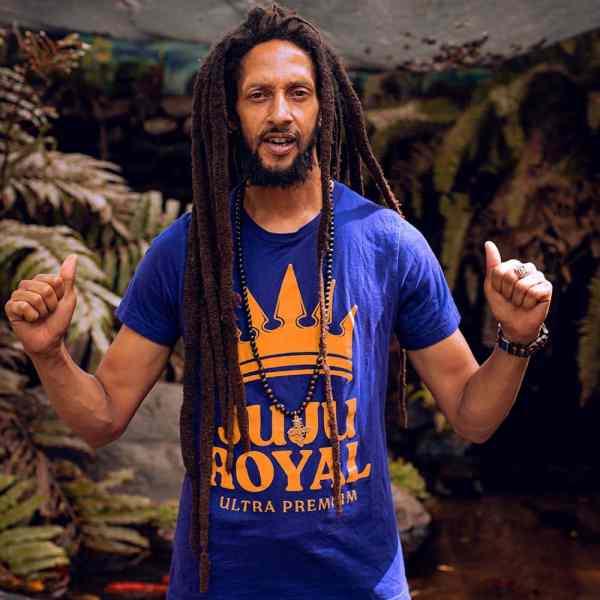 Julian Marley JuJu Royal Logo Shirt