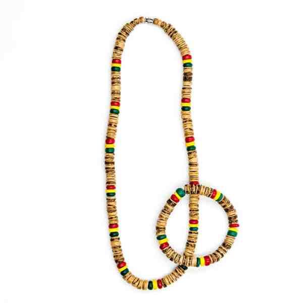 JuJu Royal Rasta Coco Jewelry Set